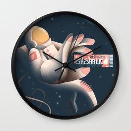 GAGarlic 1 Wall Clock