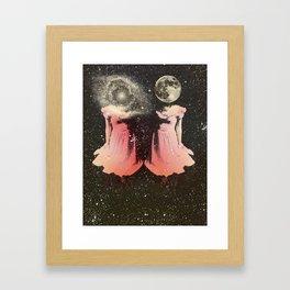 Celestial Twins Framed Art Print