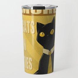Cats in Ties - PSA Travel Mug
