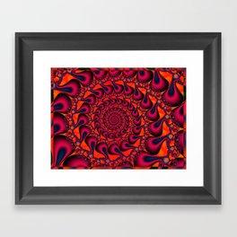 Whirling dervishes Framed Art Print