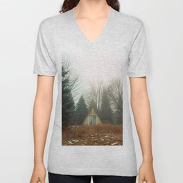 Triangle in the Woods Unisex V-Neck