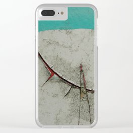 Keep quiet Clear iPhone Case