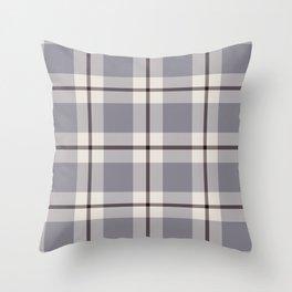 big light weave monochrome Throw Pillow