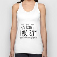 logo Tank Tops featuring Logo by The Fort by The Smoking Roses!