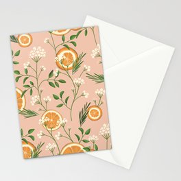 Elderflower & Oranges - Pastel Stationery Cards