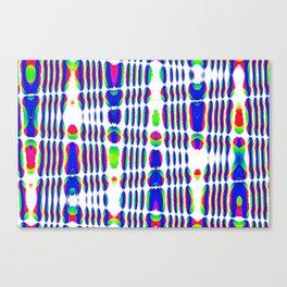 rhombus rainbow Canvas Print
