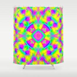 Garish  Pattern 4 Shower Curtain