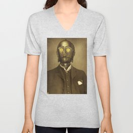 Baron Von Three PO Unisex V-Neck