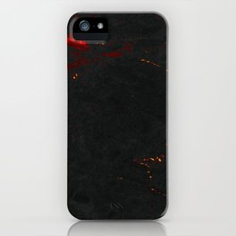 Magma Marble iPhone Case