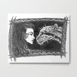 Her Ferocity  Metal Print