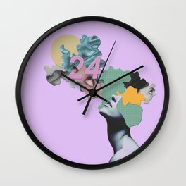 24th Straight Lust Wall Clock