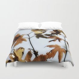 When Leaves fall Duvet Cover