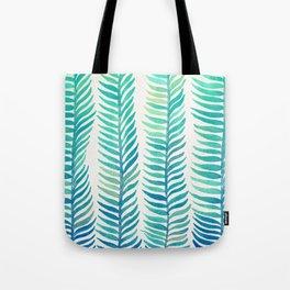 Seafoam Seaweed Tote Bag