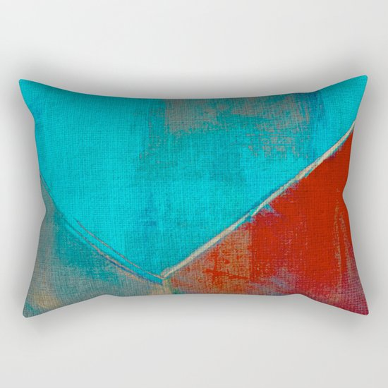 The River that Through the City Rectangular Pillow