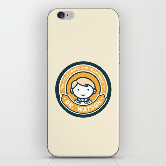 Cute John Watson - Orange iPhone & iPod Skin
