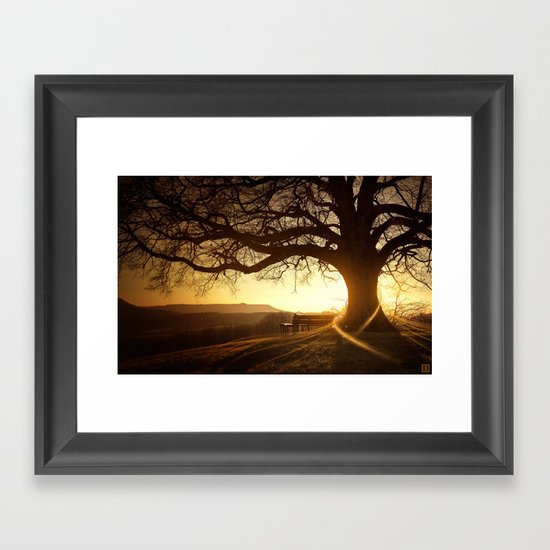 Treehugger Framed Art Print