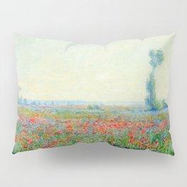 """Claude Monet """"Poppy Field"""", 1881 Pillow Sham"""