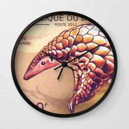 Manis Temminckii Wall Clock