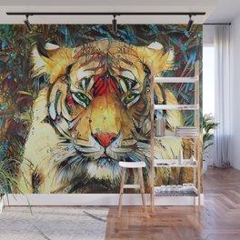 Fantazi (Tiger is Not Amused II) Wall Mural