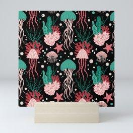 Jellyfish Dreams  Mini Art Print