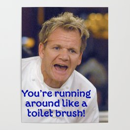 Toilet Brush? Poster