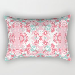 Arabella - abstract minimal pattern print art home decor trendy girly boho dorm college painting Rectangular Pillow