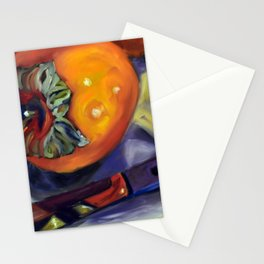 A Gift of Persimmons 2 Stationery Cards