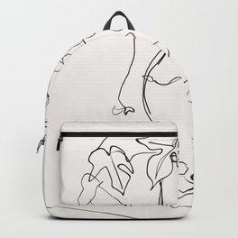grapes sketch art Backpack