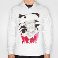 picasso Hoodies featuring Picasso by Mitja Bokun