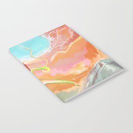 Fantasy Dragon and Clouds Notebook