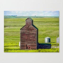 Elevator, Charbonneau, North Dakota Canvas Print