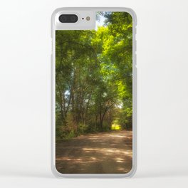 Morning Light on the Backroads Clear iPhone Case