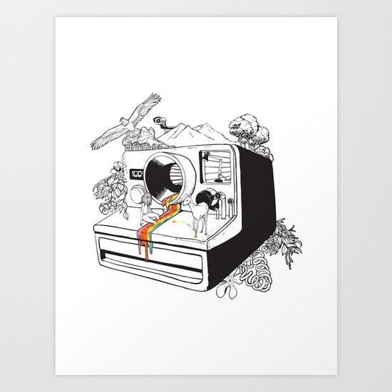 Captured Nostalgia Art Print