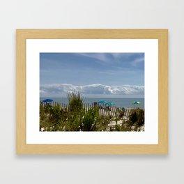 Mermaid View Framed Art Print