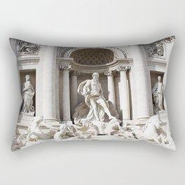 Trevi Fountain. Rectangular Pillow