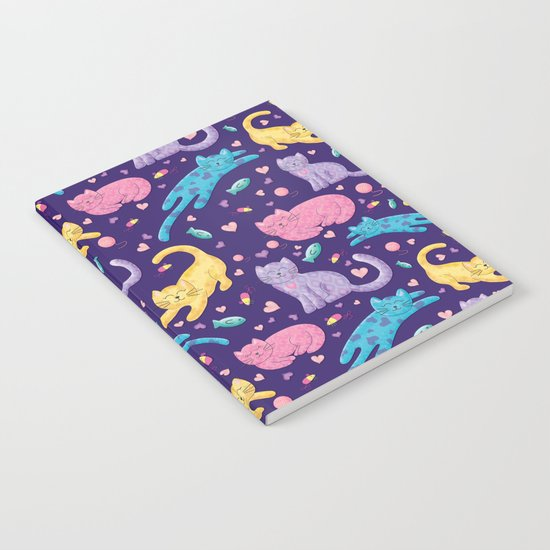 Playful Kittens Pattern Notebook