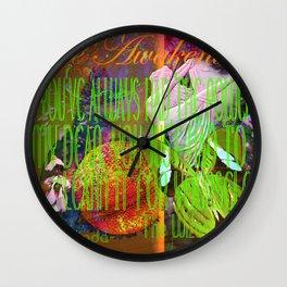 The Wizard Awakening Within Wall Clock