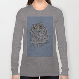 Grouchy Cat Master 3000 Long Sleeve T-shirt