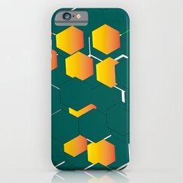 hexágono iPhone Case
