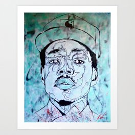 Chance Art Print
