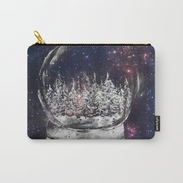 Magical Winter Snow globe Carry-All Pouch