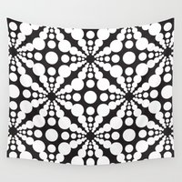 dot Wall Tapestries featuring DOT by Vadeco