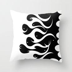 Magic Fishes Throw Pillow