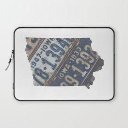 Vintage Iowa Laptop Sleeve