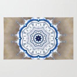 Kremlin Inspired Mandala Rug