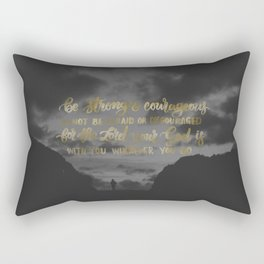 Courage Rectangular Pillow