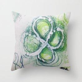 Hello Seattle Throw Pillow