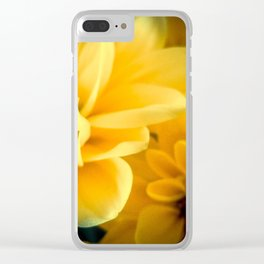 Spring Mums Clear iPhone Case