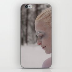 Being in white iPhone & iPod Skin