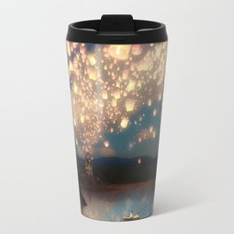 Love Wish Lanterns Travel Mug